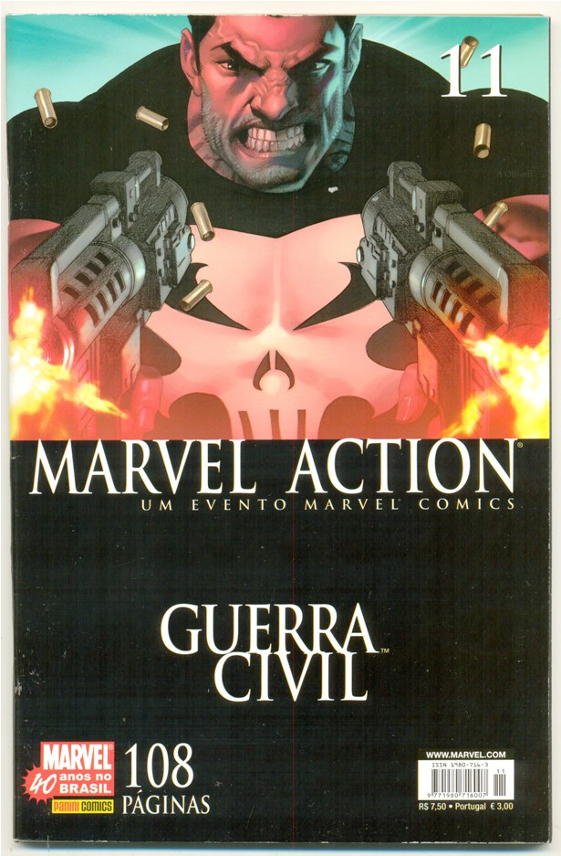 MARVEL ACTION nº011 - EDITORA PANINI