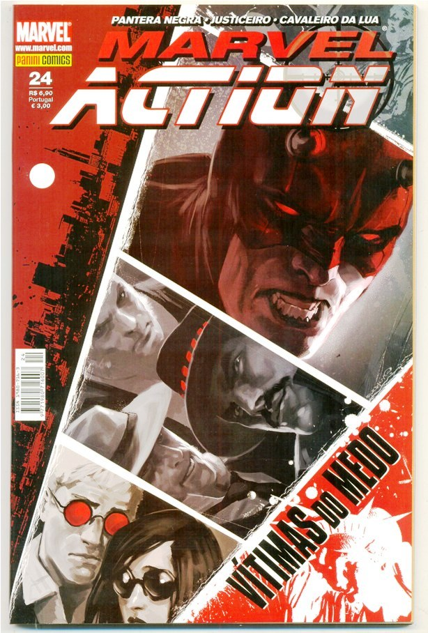 MARVEL ACTION nº024 - EDITORA PANINI