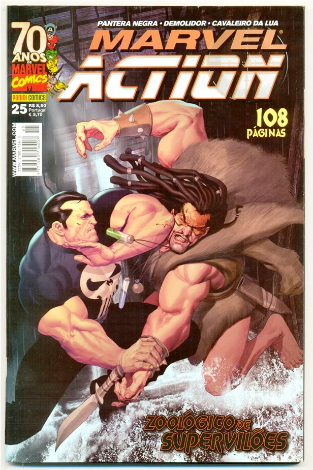 MARVEL ACTION nº025 - EDITORA PANINI