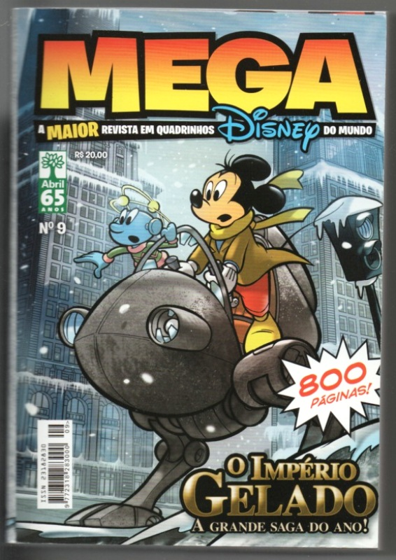 MEGA DISNEY nº09 - ED. ABRIL