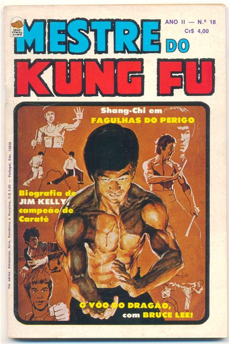 MESTRE DO KUNG FU nº18 - ED. BLOCH