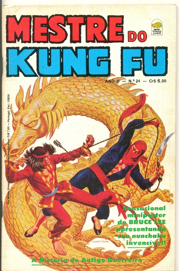 MESTRE DO KUNG FU nº24 - ED. BLOCH