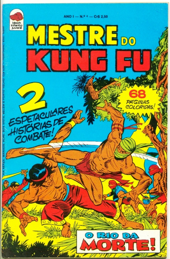 MESTRE DO KUNG FU nº04 - ED. BLOCH