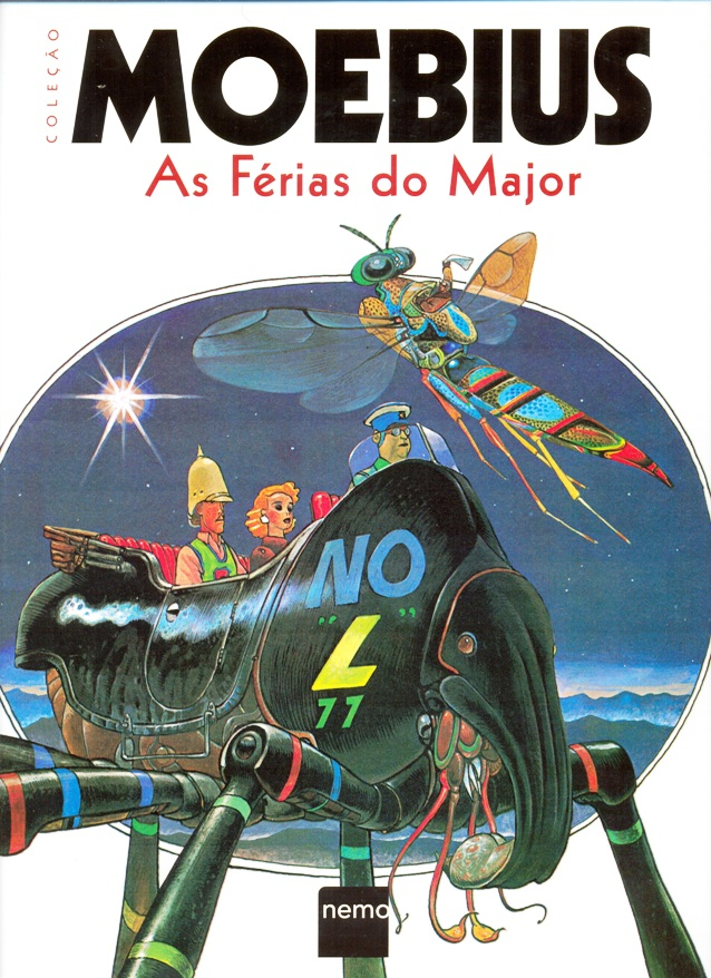 COLEÇÃO MOEBIUS - VOL. 5 AS FÉRIAS DO MAJOR - ED. NEMO