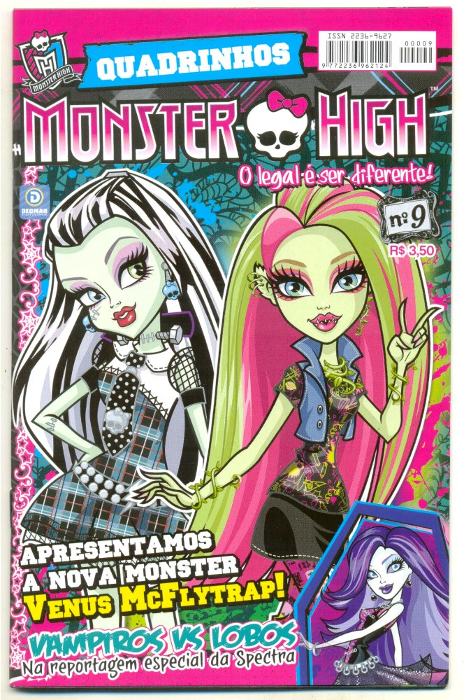 MONSTER HIGH nº09 - EDITORA DEOMAR