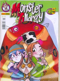 MONSTER ALLERGY n°05 - EDITORA PANINI