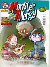 MONSTER ALLERGY n°04 - EDITORA PANINI