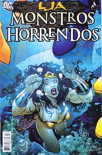 LJA - MONSTROS HORRENDOS n°02 - ED MYTHOS