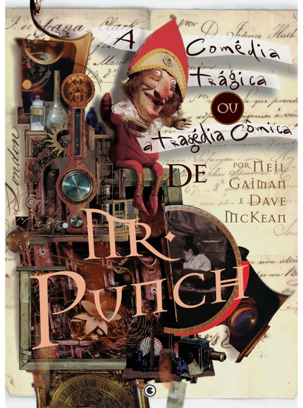 MR. PUNCH DE NEIL GAIMAN - ED. CONRAD