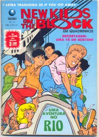 NEW KIDS ON THE BLOCK nº15 - EDITORA GLOBO