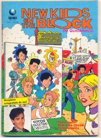 NEW KIDS ON THE BLOCK nº10 - EDITORA GLOBO