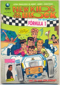 NEW KIDS ON THE BLOCK nº12 - EDITORA GLOBO