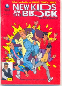 NEW KIDS ON THE BLOCK nº13 - EDITORA GLOBO