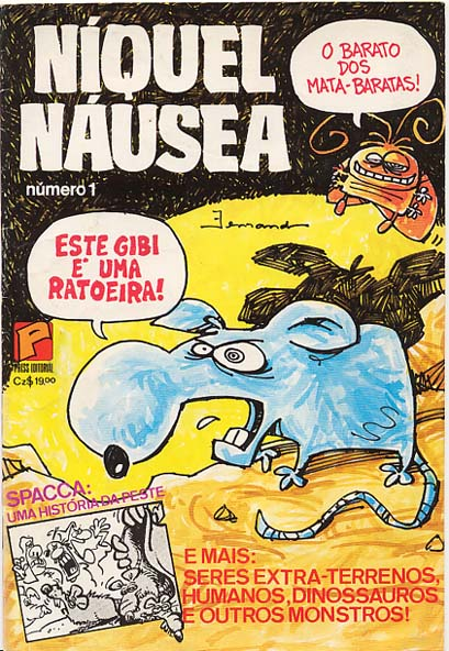 NÍQUEL NÁUSEA nº01 - EDITORA PRESS