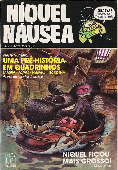 NÍQUEL NÁUSEA nº02 - EDITORA PRESS