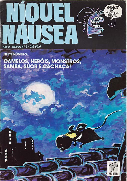 NÍQUEL NÁUSEA nº03 - EDITORA PRESS