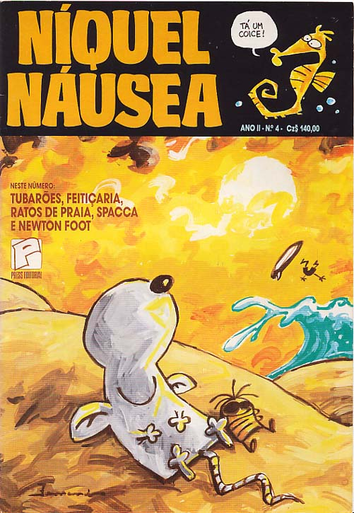 NÍQUEL NÁUSEA nº04 - EDITORA PRESS
