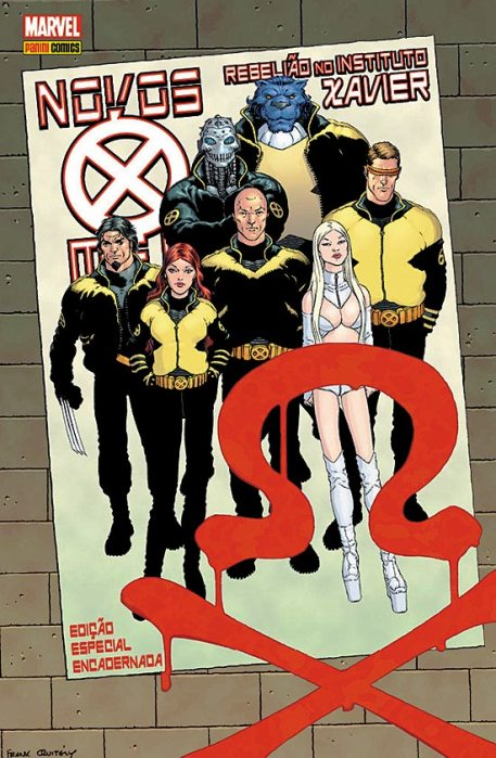 NOVOS X-MEN - REBELIÃO NO INSTITUTO XAVIER - EDITORA PANINI