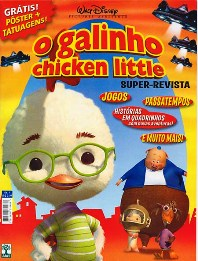 O GALINHO CHICKEN LITTLE nº01 - SUPER-REVISTA
