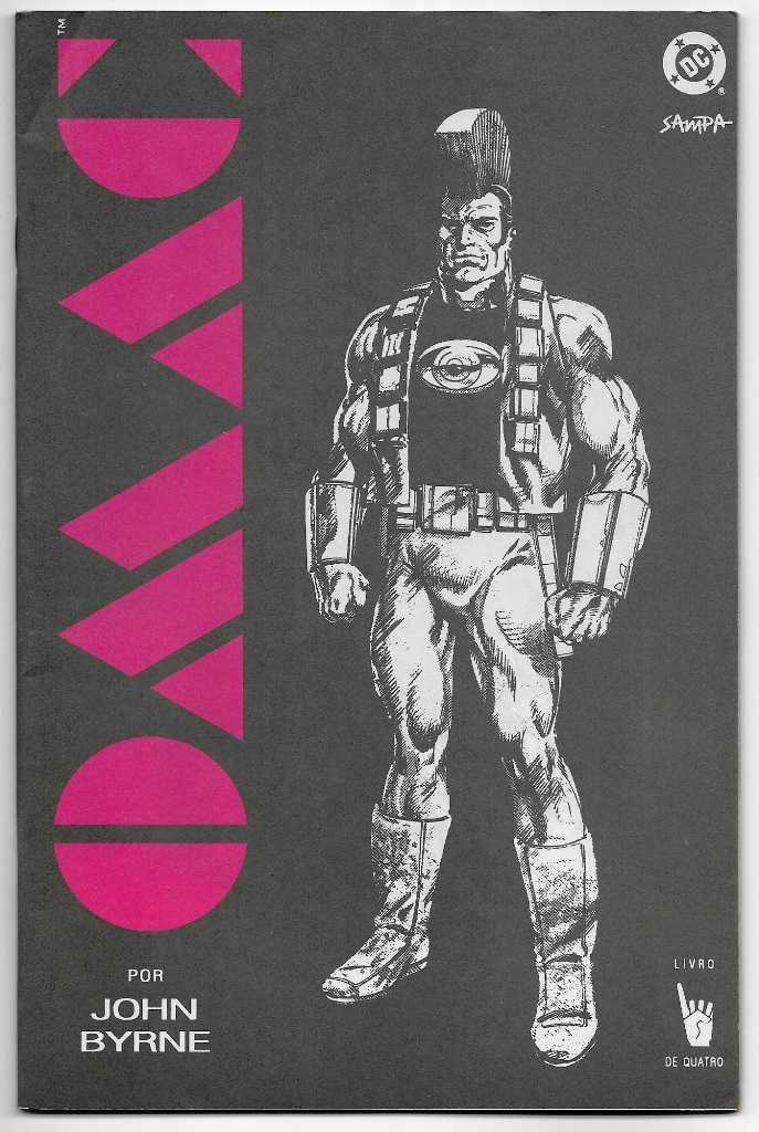 OMAC - ONE MAN ARMY CORPS - nº01 - ED. SAMPA