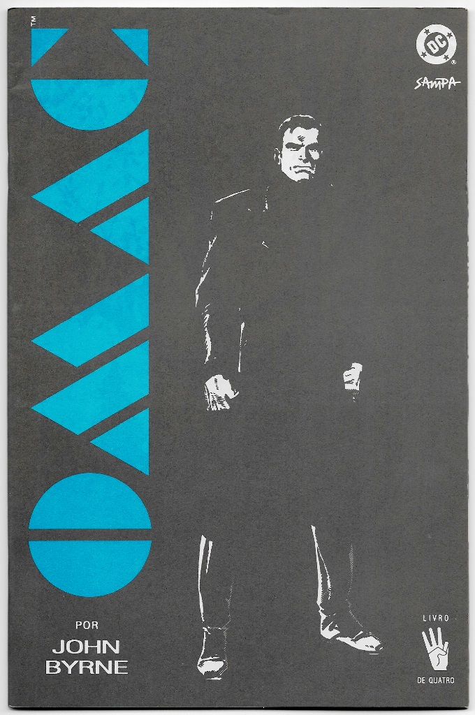OMAC - ONE MAN ARMY CORPS - nº04 - ED. SAMPA