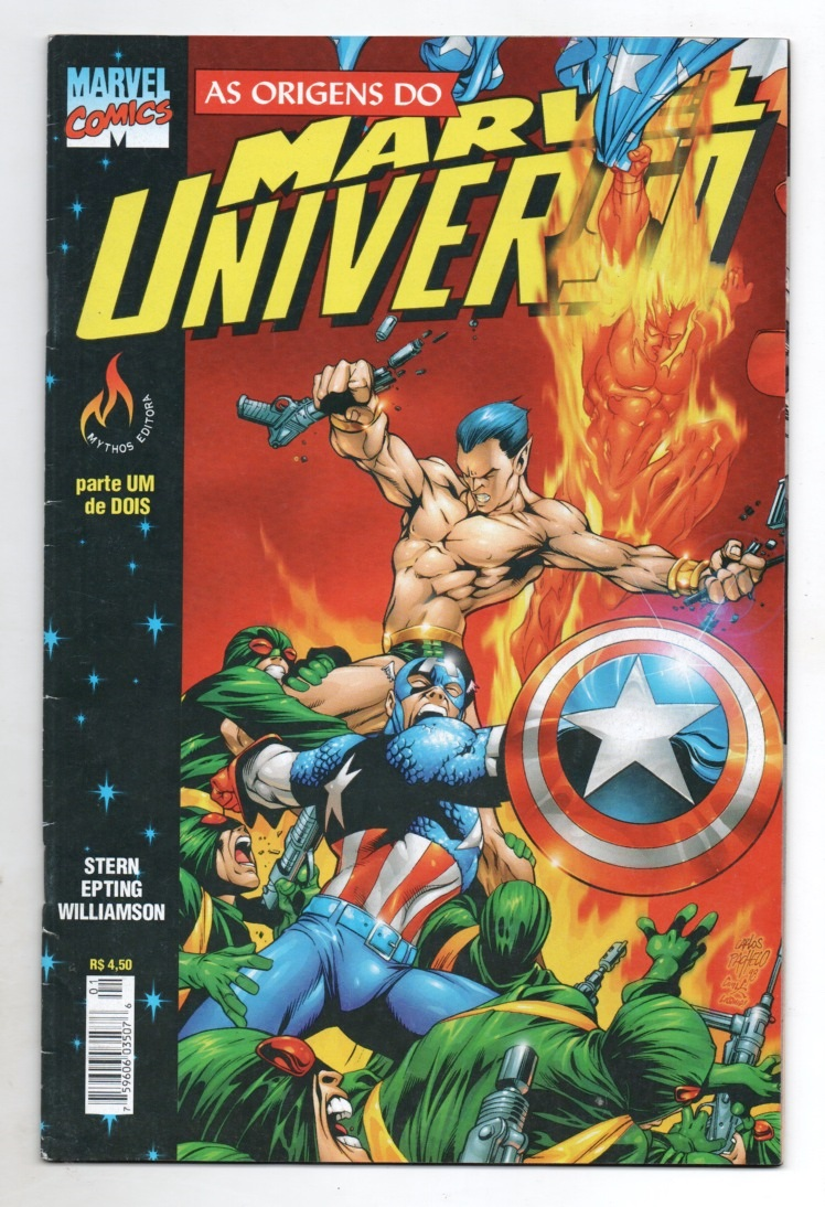 AS ORIGENS DO MARVEL UNIVERSO PARTE 1 - ED. MYTHOS