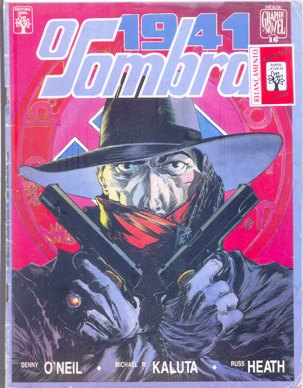 GRAPHIC NOVEL nº16 - O SOMBRA - ED. ABRIL