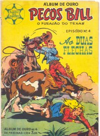 PECOS BILL - O FURACÃO DO TEXAS nº04 - ED. VECCHI