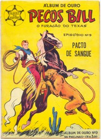 PECOS BILL - O FURACÃO DO TEXAS nº09 - ED. VECCHI