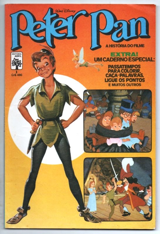 PETER PAN O FILME - EDITORA ABRIL