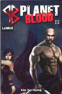 PLANET BLOOD nº002 - EDITORA LUMUS