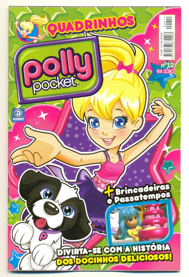 POLLY POCKET nº12 - EDITORA DEOMAR