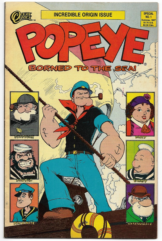 POPEYE - BORNED TO THE SEA! - AMERICANA - nº01