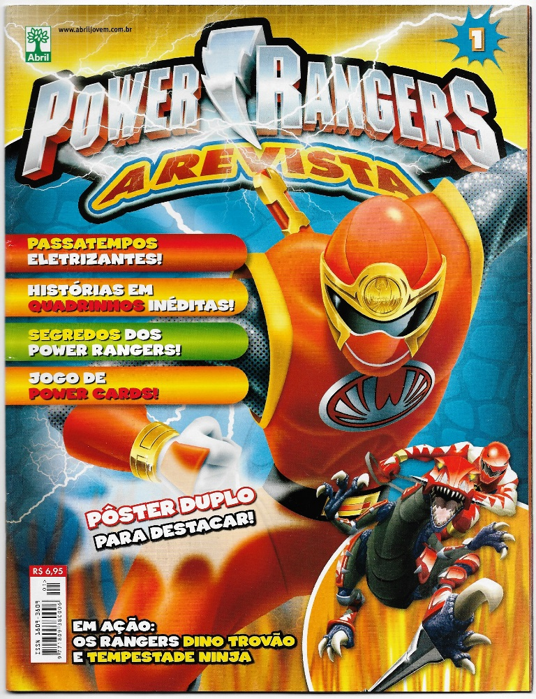 POWER RANGERS - EDITORA ABRIL nº01