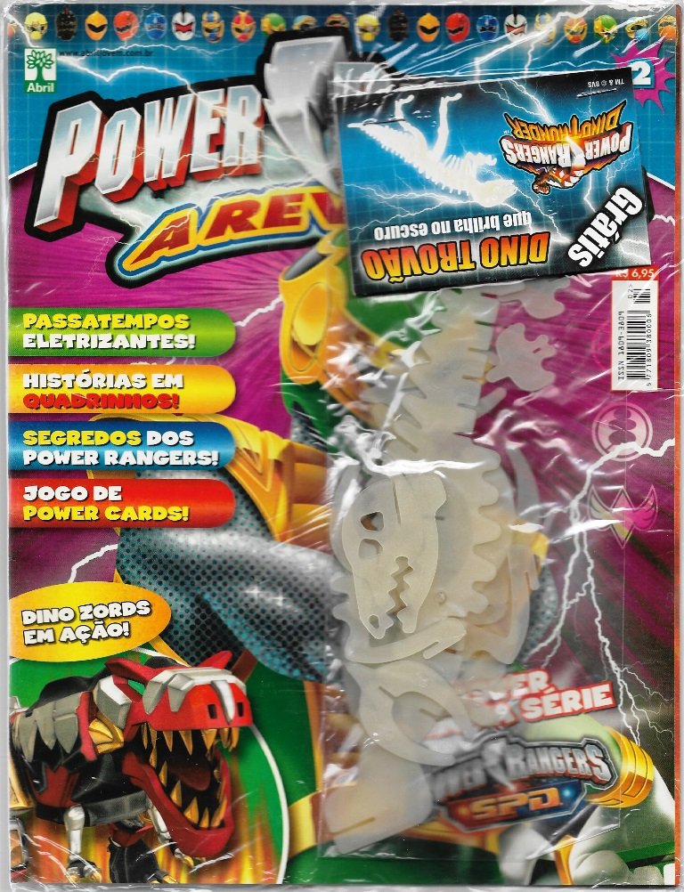POWER RANGERS - EDITORA ABRIL nº02