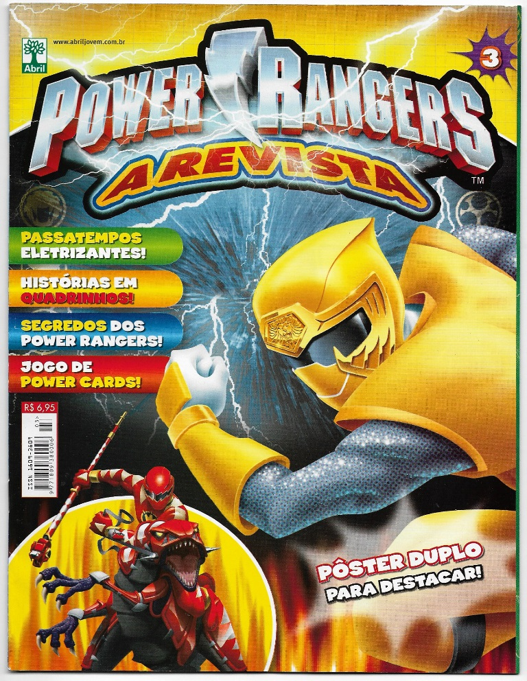 POWER RANGERS - EDITORA ABRIL nº03