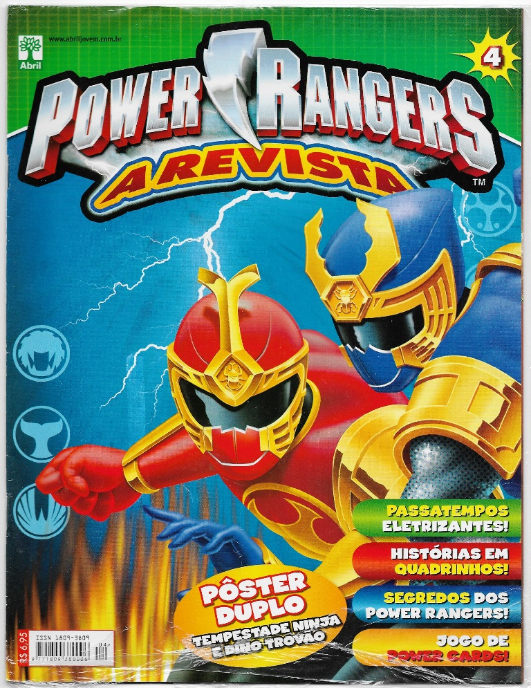 POWER RANGERS - EDITORA ABRIL nº04
