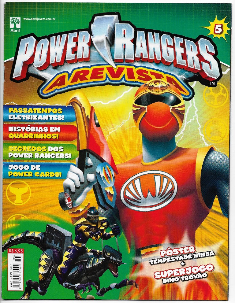 POWER RANGERS - EDITORA ABRIL nº05