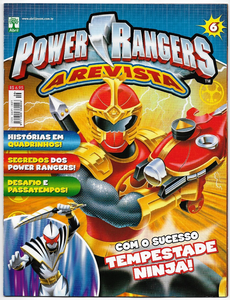 POWER RANGERS - EDITORA ABRIL nº06