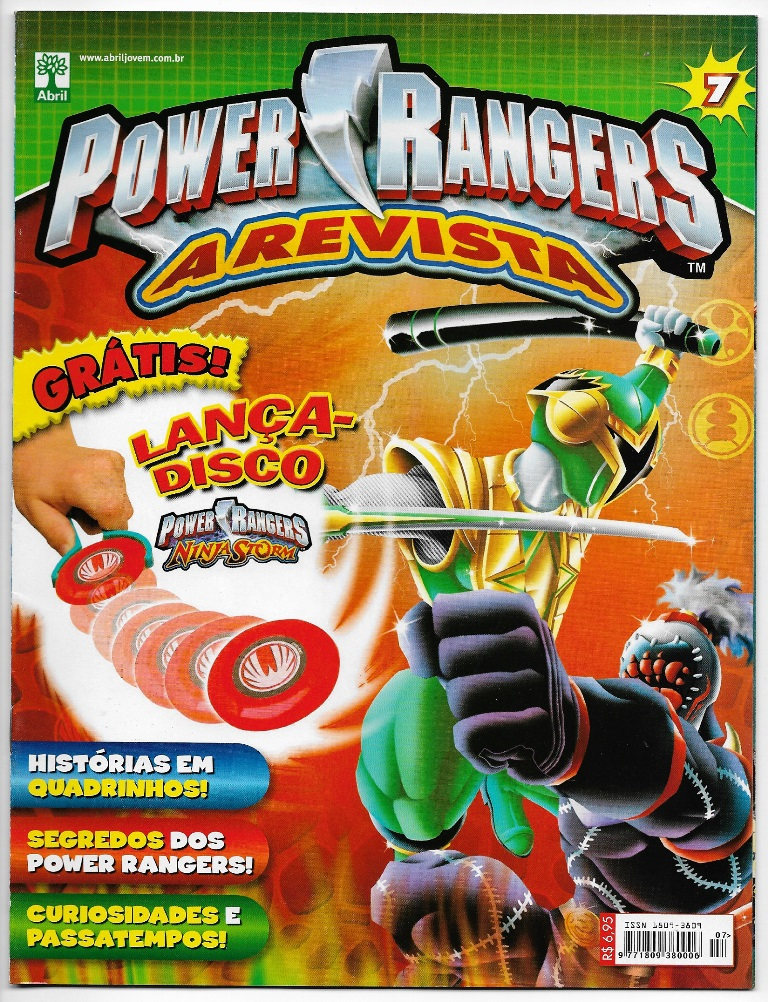 POWER RANGERS - EDITORA ABRIL nº07