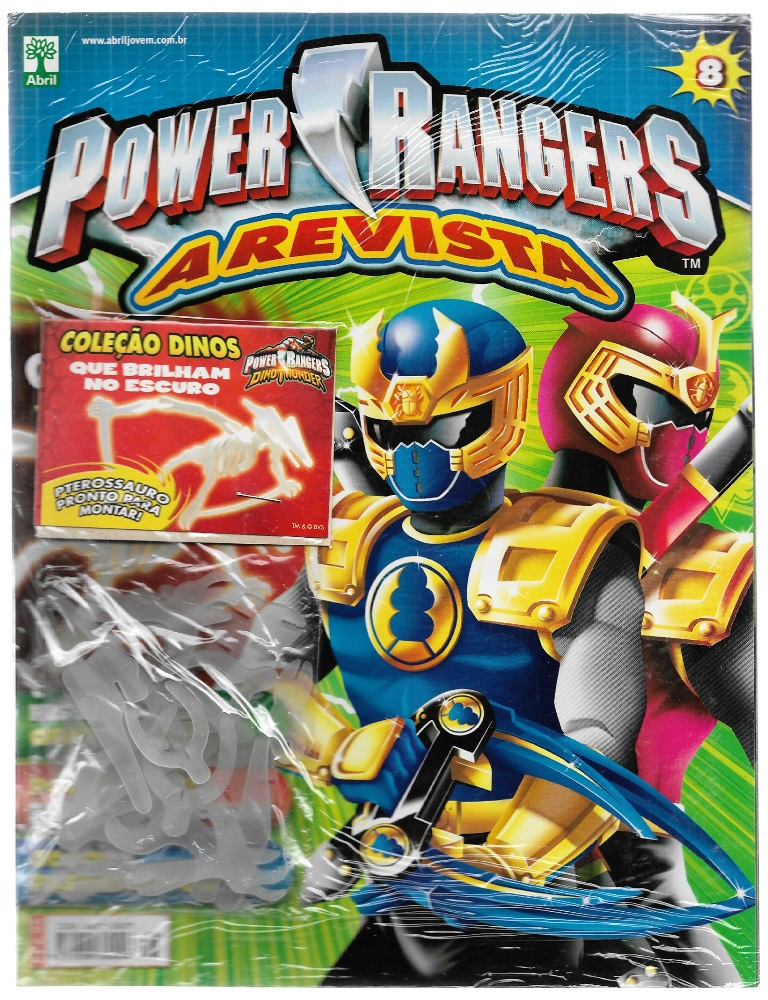 POWER RANGERS - EDITORA ABRIL nº08