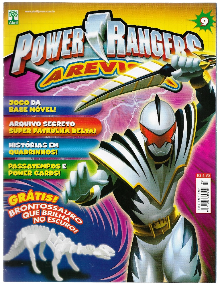 POWER RANGERS - EDITORA ABRIL nº09