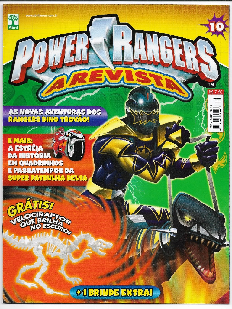 POWER RANGERS - EDITORA ABRIL nº10