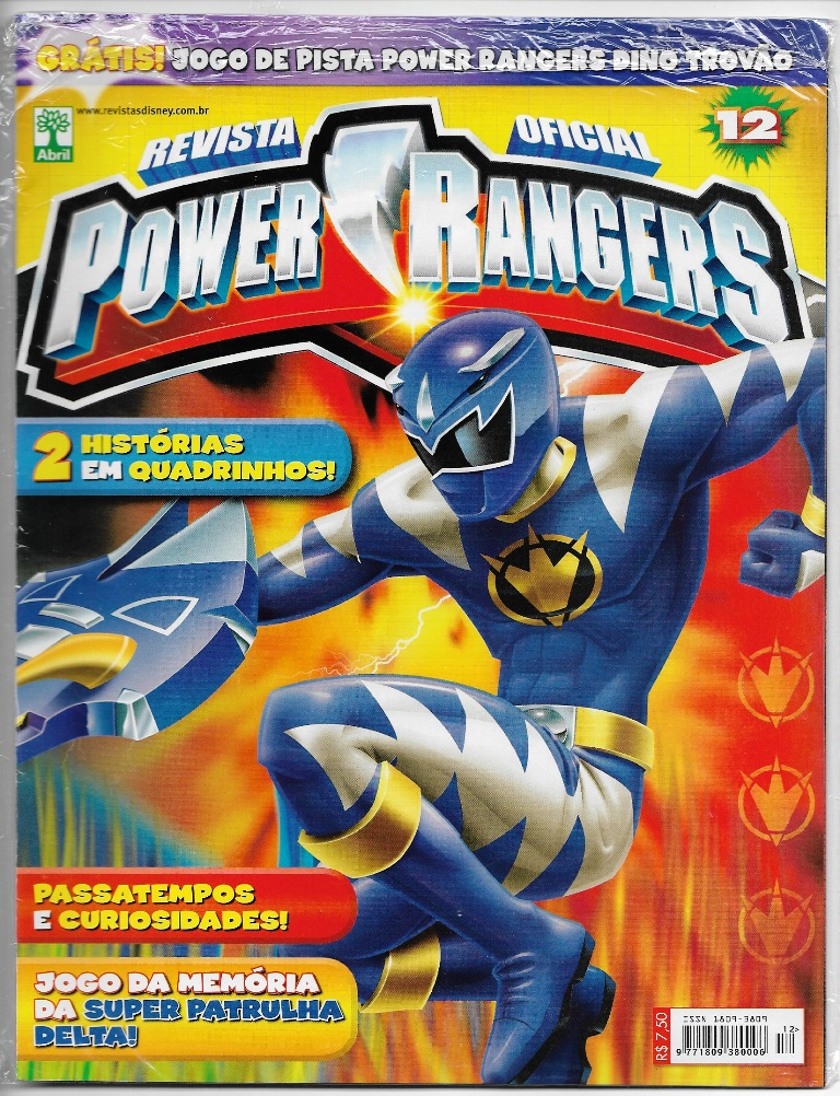 POWER RANGERS - EDITORA ABRIL nº12