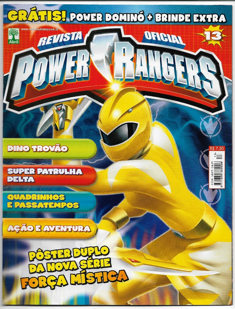 POWER RANGERS - EDITORA ABRIL nº13