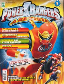 POWER RANGERS nº001 - EDITORA ABRIL