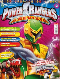 POWER RANGERS nº002 - EDITORA ABRIL