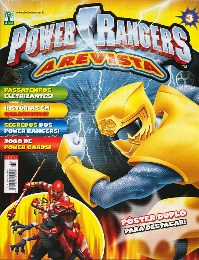 POWER RANGERS nº003 - EDITORA ABRIL