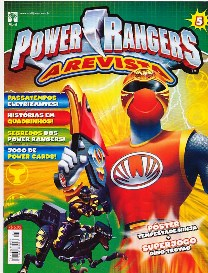 POWER RANGERS nº005 - EDITORA ABRIL