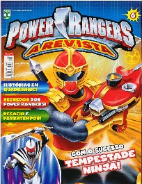 POWER RANGERS nº006 - EDITORA ABRIL
